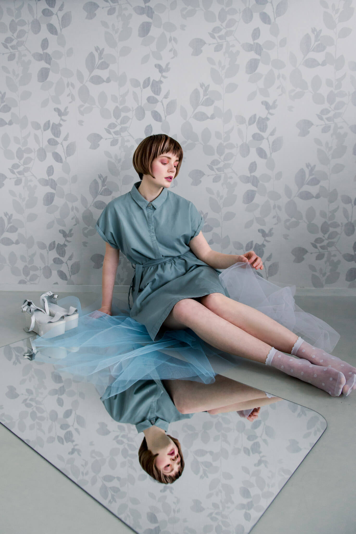 Fashion Editorial Pastel Grounds